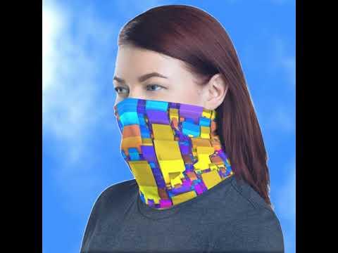 Special designet ansiktsmaske