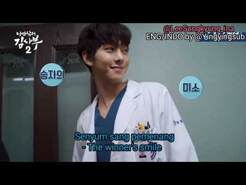 [ENG/INDO] Behind The Scenes Of Romantic Doctor Kim -2 (Lee Sung Kyung & Ahn Hyo Seop)