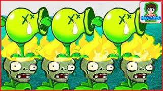 Игра Растение против зомби, Зомби стали растениями, Plants Vs Zombies Наоборот От Фаника 5