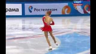 Elena RADIONOVA 2014 FS Russian Nationals