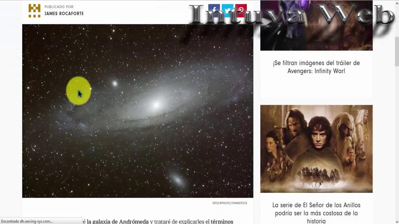 Intuya Web (Conjuntos de Marcos de Astronomía) - YouTube