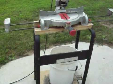 Homemade Chop Saw Stand Youtube