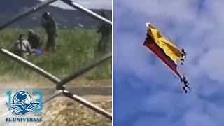 Mueren soldados colombianos al caer de helicóptero