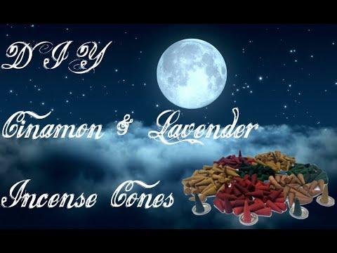 Diy cinnamon lavender incense cones