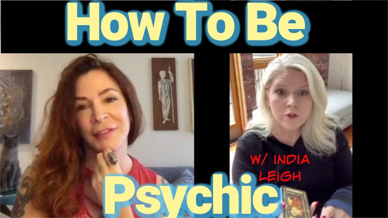 Interview with a Tarot Reader:. Tapping Into Your Own Psychic Power w/ India Leigh.