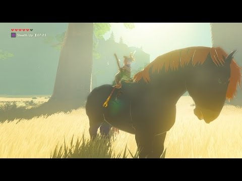 """How to catch Ganon's Horse """"Giant Horse"""" in Breath of the Wild"""