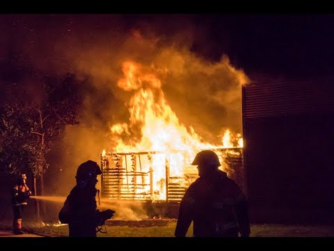 Påsat brand i Netto butik og børnehave i Korsør