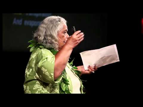 TEDxHONOLULU - Dr. Pualani Kanaka'ole Kanahele - Haena: Intense Breath of the Sun