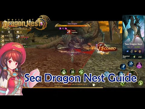 SEA DRAGON NEST GUIDE FOR NEWBIE - WORLD OF DRAGON NEST ( ENG )