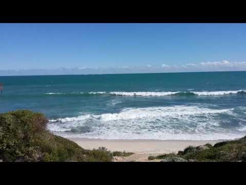 Ocean Reef Waves Perth Western Australia