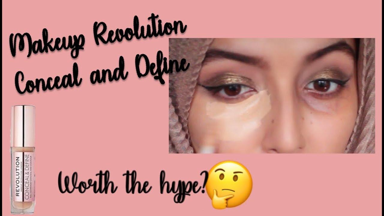 Makeup revolution concealer swatches c10