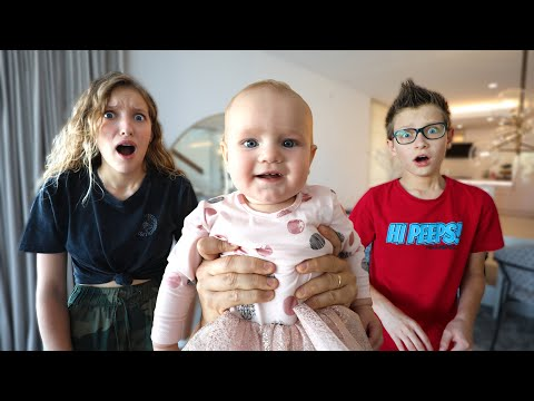 Pizza Challenge With Baby Aria!