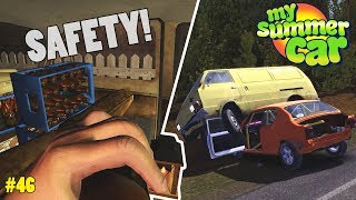 Seatbelts! - Camping in the Ruscko | My Summer Car Beta