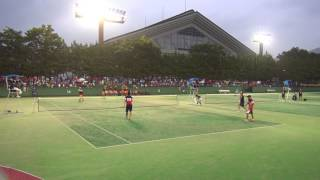25日 ソフトテニス男子 団体 羽黒×東北 決勝 3 thumbnail