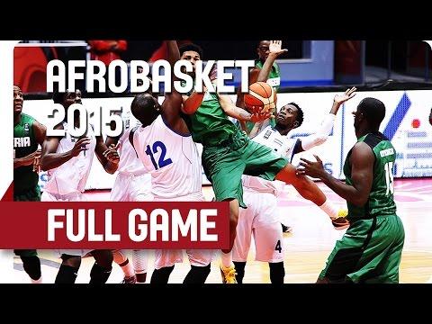 Gabon v Nigeria - Quarter-Final - Full Game - AfroBasket 2015