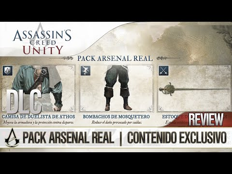 Assassin's Creed Unity | DLC Pack Arsenal Real | Contenido Exclusivo | Review