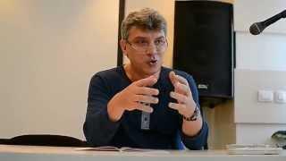 Борис Немцов о внешней политике России: Китай, Белоруссия, Казахстан