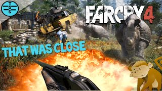 Far Cry 4 | Funny Moments, Flying, Monkeys And Rhinos