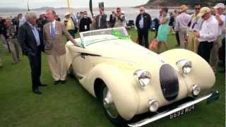 Pebble Beach 2012: 1938 Talbot Lago Convertible - Jay Leno's Garage