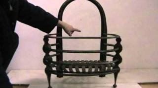 Hand Forged Iron Grate  No7 Abacus St Julian