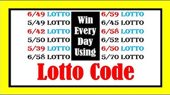 How To Use Lotto Code