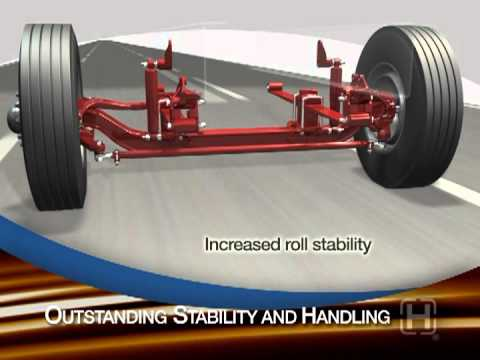 SOFTEK® Monoleaf Truck Suspension & Steer Axle System | Henrickson