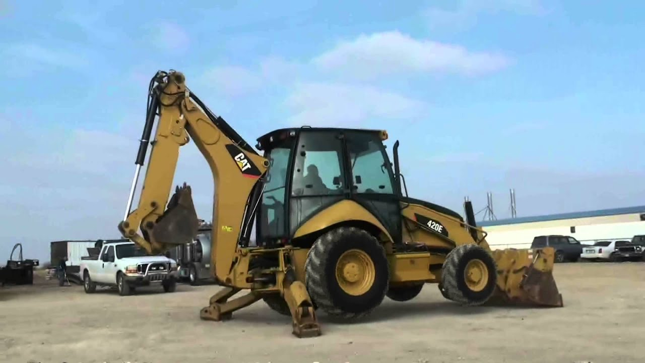 2009 CATERPILLAR 420E For Sale