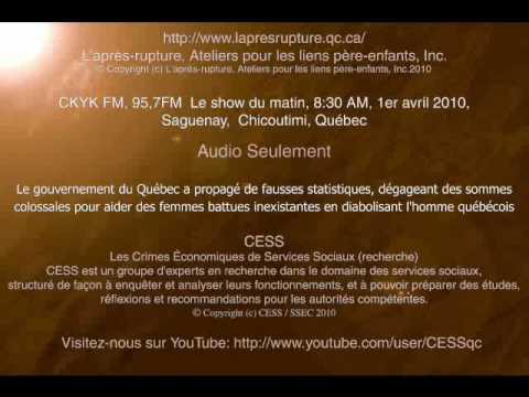 1ère partie - des statistiques fausses produites par le gouvernement du Québec