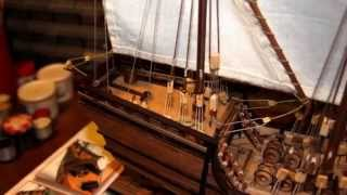 Nina - Ship Caravel -  First voyage Christopher Columbus 1492