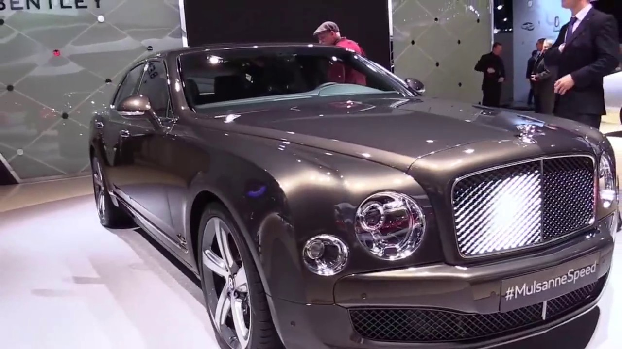 2018 Bentley Mulsanne Speed Design Limited Special First
