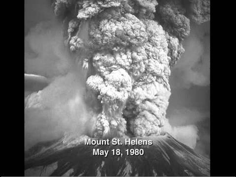 Image result for mt st helens eruption