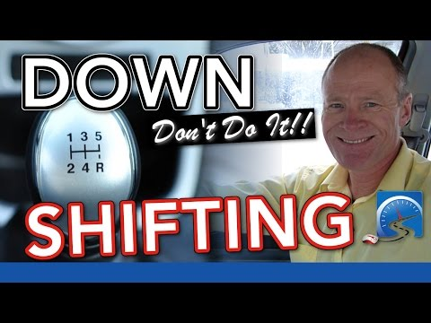 How to Drive A Manual Transmission—Downshifting | New Driver Smart