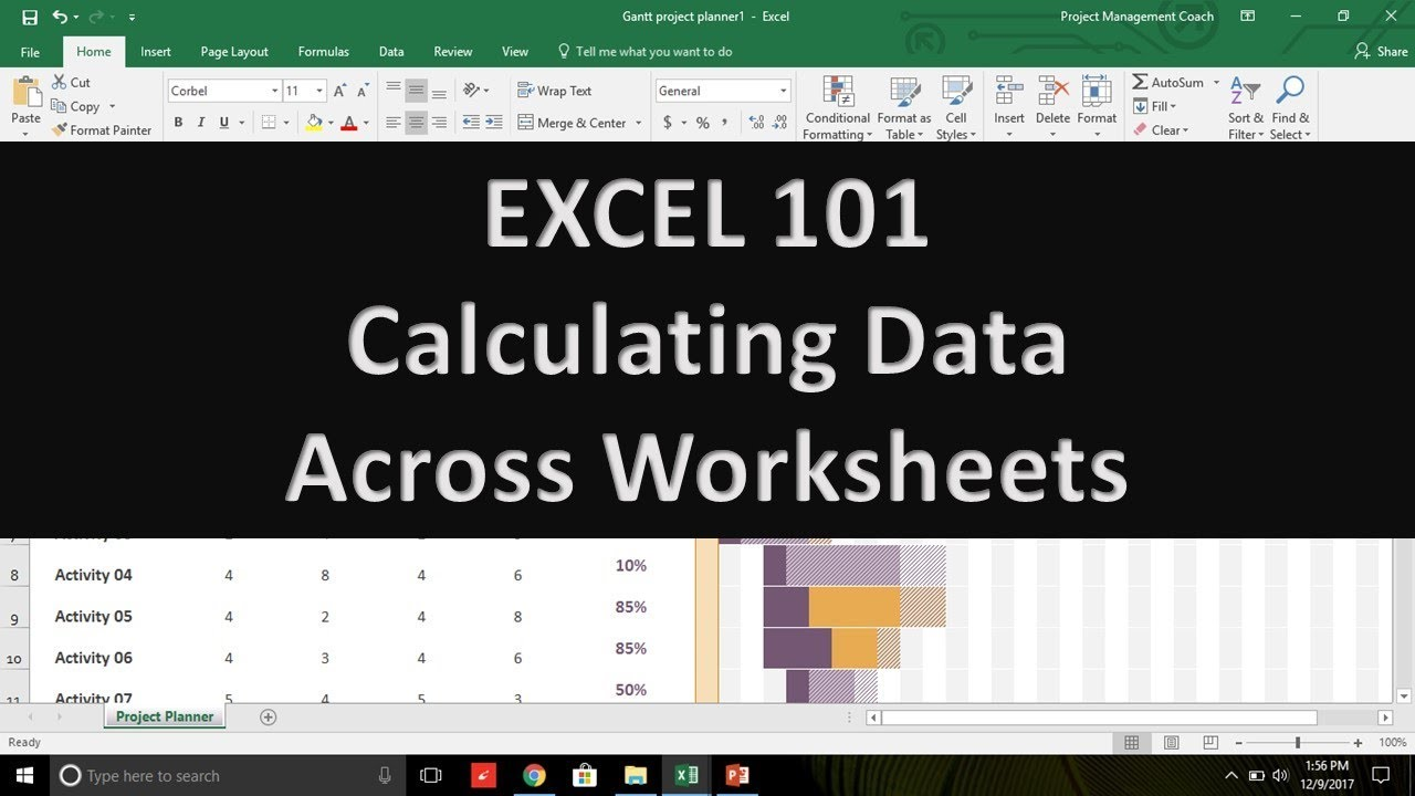 Microsoft excel 101 calculating data across worksheets level1 microsoft excel 101 calculating data across worksheets level1 module1 section1b 1betcityfo Image collections