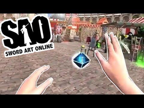 FINALLY, A SWORD ART ONLINE MMORPG GAME ON PC !!! AAAAAAAAAH