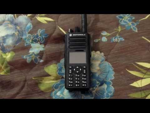 Introduction to DMR radio, with Motorola XPR 7550, Part 1