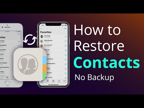 This video will show you 3 simple ways to back up iPhone contacts to computer or iCloud: you can eas.