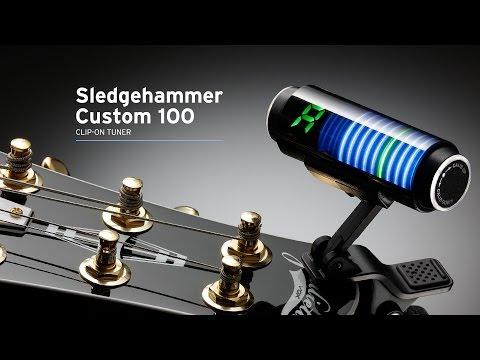 KORG Sledgehammer Custom 100: Ultra-high-precision clip-type tuner