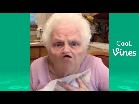 Try Not To Laugh Challenge - Funny Ross Smith Grandma Instagram Videos 2017