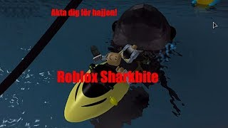Elliot is the best shark! -Plays Roblox Sharkbite in English