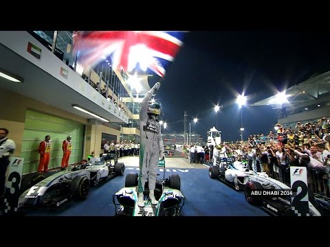 Lewis Hamilton's Second World Title | 2014 Abu Dhabi Grand Prix