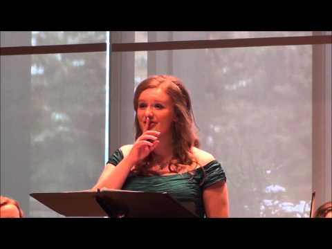 Goodnight Moon (Eric Whitacre) - Ariana Spring Hahl Senior Vocal Performance Recital - Part IX