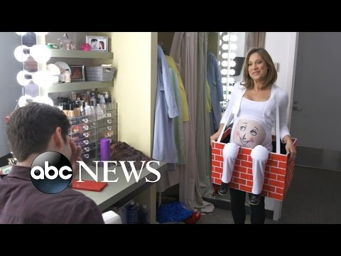 Ginger Zee's Maternity Costume Search