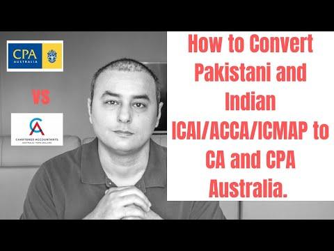CPA Vs CA Australia Comparison For Indians And Pakistanis - 2019