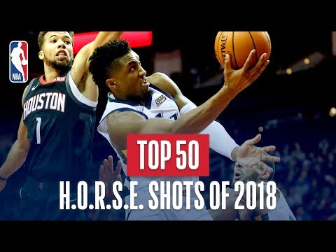 NBA's Top 50 H.O.R.S.E Shots Of 2018