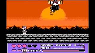 Let S Play Ninja Cat Кот Ниндзя Полное прохождение Денди Dendy NES