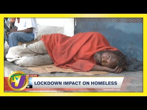 Lockdown Impact on Homeless in Jamaica   TVJ News