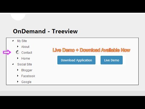 How to Populate Treeview Nodes  Dynamically (On Demand)  using in MVC 4 application.