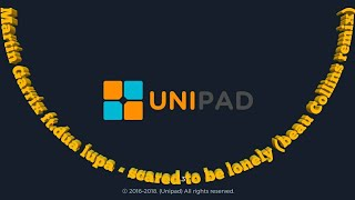 Martin Garrix ft.dua lipa - scared to be lonely (beau Collins remix) unipad cover