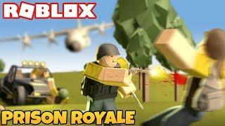 EXPLODING CAR! Roblox Prison Royale