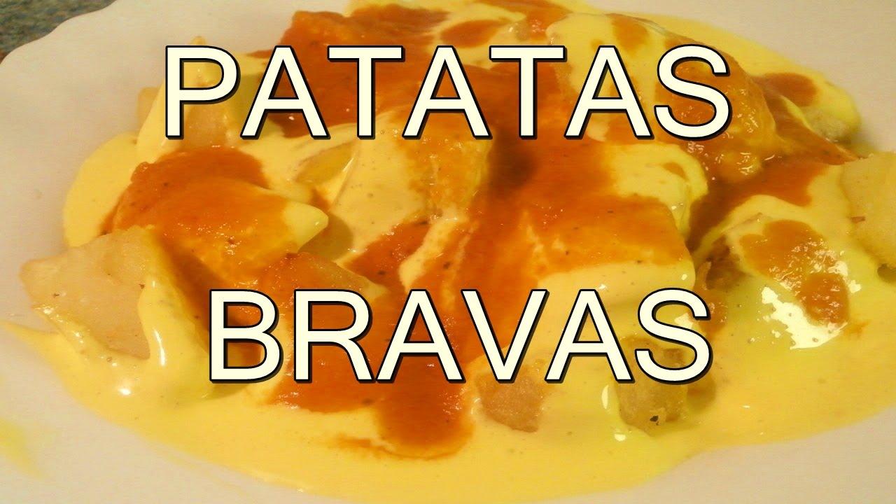 Papas o patatas bravas recetas de cocina comidas for Comidas faciles de preparar y economicas